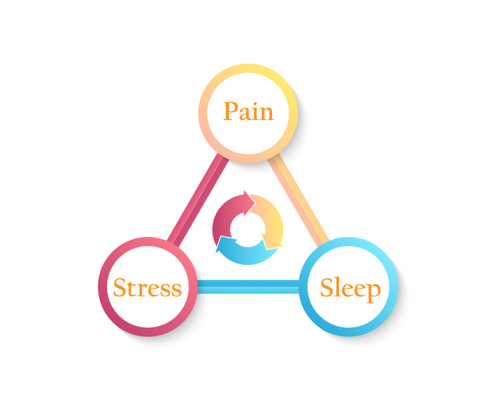 pain sleep stress primary cycle